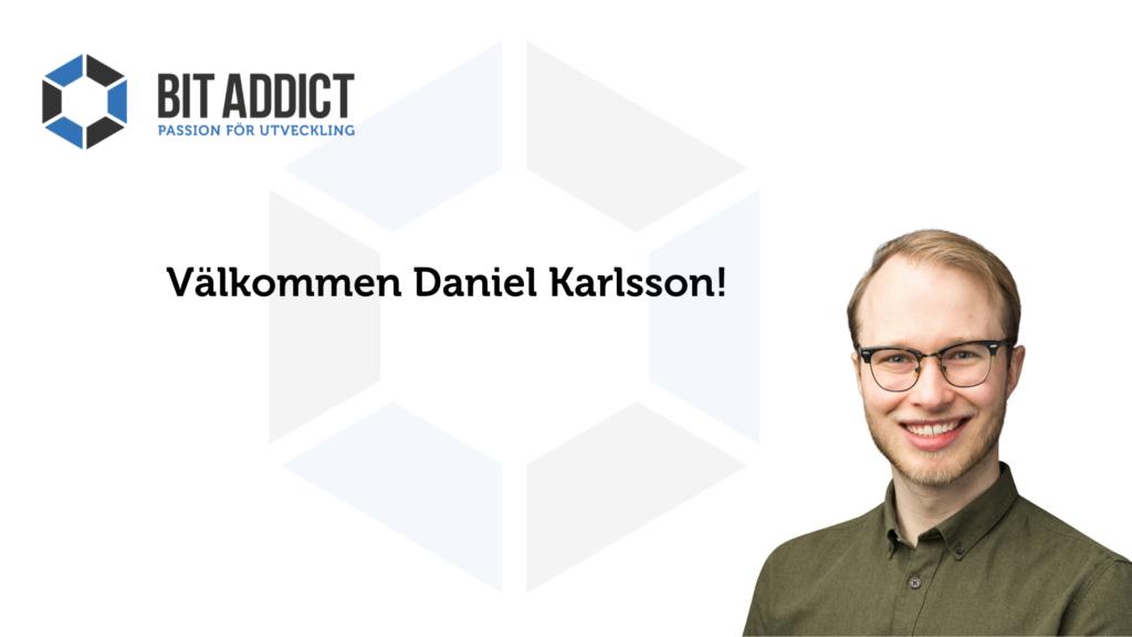 Välkommen Daniel!