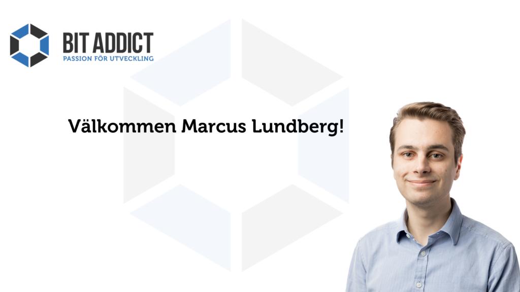 Välkommen Marcus!