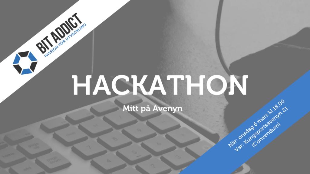 Hackathon – Mitt på Avenyn, Göteborg