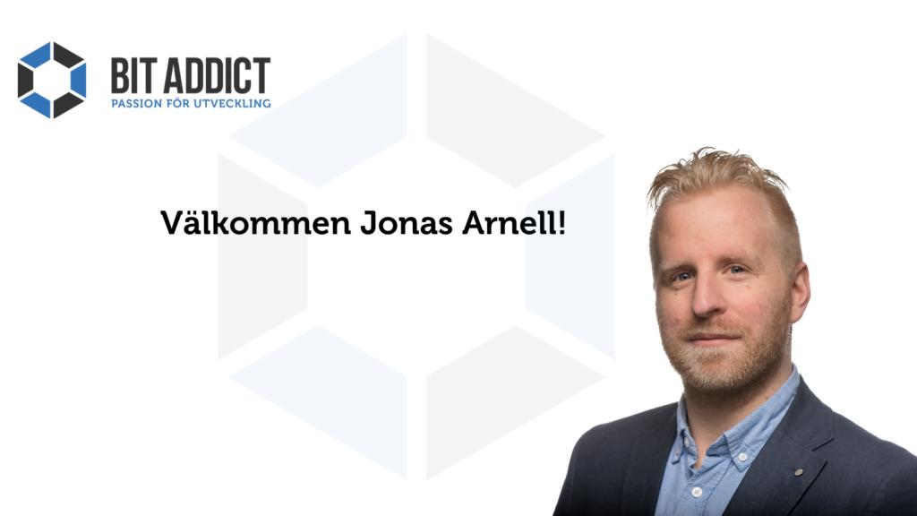 Välkommen Jonas Arnell!
