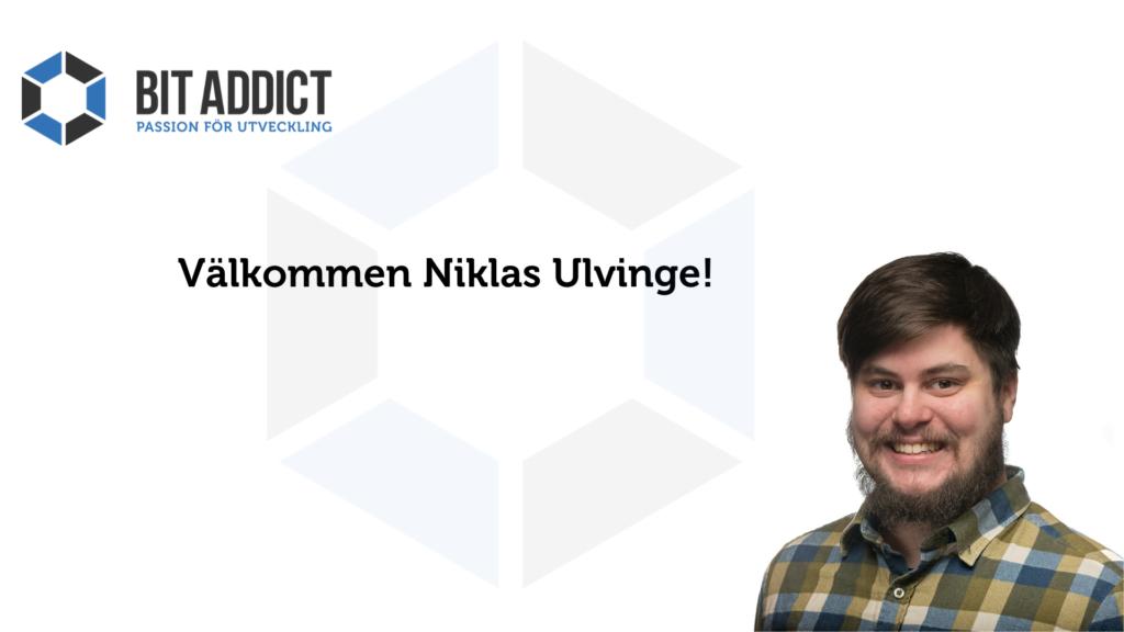 Välkommen Niklas Ulvinge!