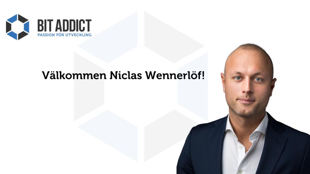 Välkommen Niclas!