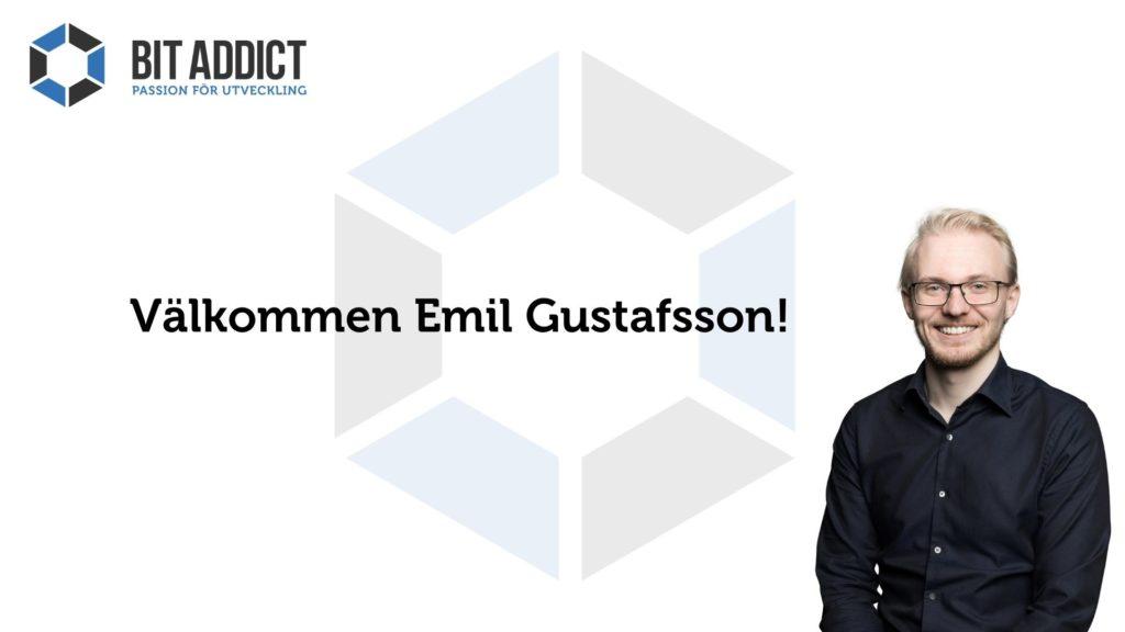 Välkommen Emil Gustafsson!