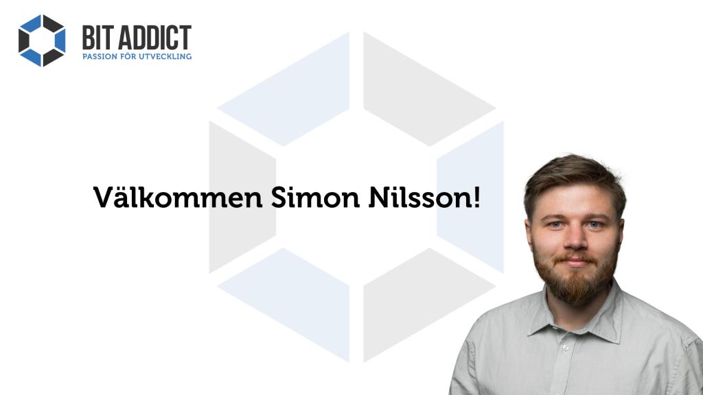 Välkommen Simon Nilsson